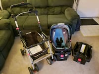 Stroller, car seat and 2 bases CLICK CONNECT GRACO Fairfax, 22031