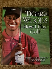 Hard Cover - Tiger Woods book Lincoln, L0R 1B1