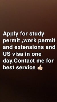Apply for Work permit and US visa Surrey