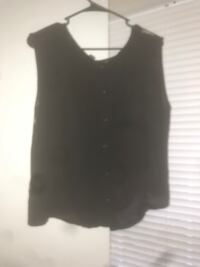 women's black sleeveless top Centreville, 20120