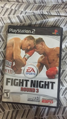 Fight Night Round 3 PS2 game