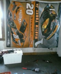 NASCAR flags 10 each or 30 for all of them  South Whitley, 46787