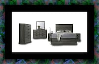 11pc Kate bedroom set with mattress District Heights, 20747