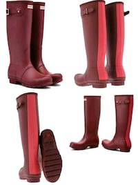 Never Worn BNWT Hunter Boots Limited Edition Windsor, N8R 1A2