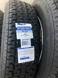 Trailer rims and tires Moreno Valley, 92553