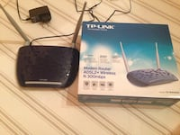nero TP-Link ADSL2 + Wireless N Modem router 300mb Campobasso, 86100