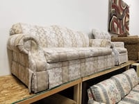 Off White Couch and Armchair Set  Denver, 80234