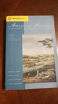 American Passages US History book