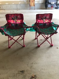 Minnie Mouse Folding Chairs