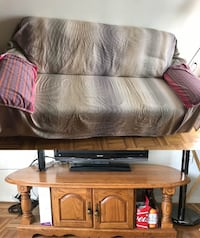 Sofa and Side table ---for free null