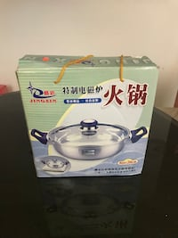 New Hotpot stainless steel for gas electric stove or induction stove