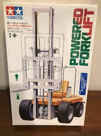Tamiya Remote Controlled Forklift Brand New & Seal Toronto