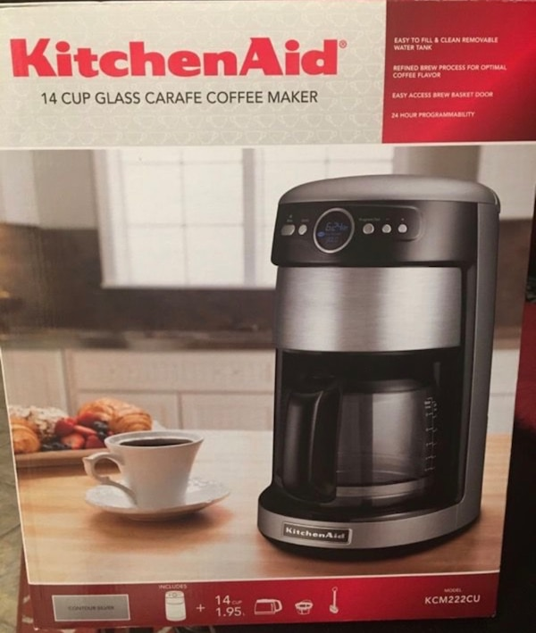 KitchenAid Glass Coffee Maker