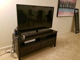 """TV stand - holds up to 50"""" TV"""