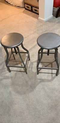 Crate and Barrel Bar Stool set of 2 Chevy Chase Section Three, 20815