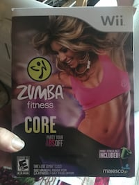 Zumba core for wii  Lacey, 08731