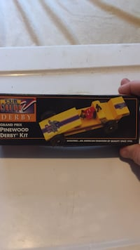 Cub Scout  1996 grand prix pinewood derby kit Mendon, 01756
