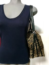 Animal print shoulder bag/back pack Burnaby, V5G 1V6