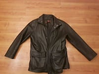 black leather zip-up jacket Ottawa, K2H 8M6