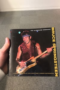 The Bruce Springsteen illustrated biography
