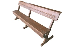 Solid Wood Outdoor / Indoor Bench