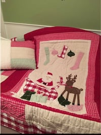 Twin Christmas Quilt Centreville, 20120
