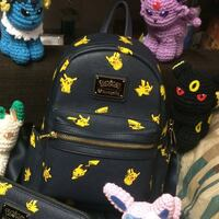 Pikachu leather backpack Gainesville, 20155