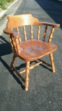 Ethan Allen Solid Maple and Birch Captain's Chair  Virginia Beach, 23455