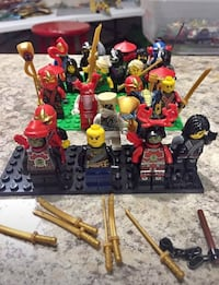LEGO ninjago minifigures and accessories  Pflugerville, 78660