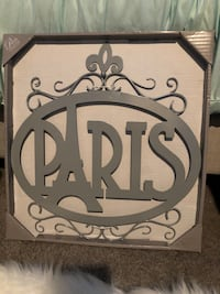 Paris collection metal wall decor Oceanside, 92056