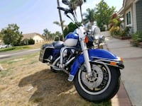 blue and black touring motorcycle Riverside, 92509