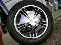 "18"" verde chrome rims w/ tires  Langley City, V2Y 1A2"