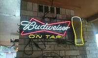 red and white Budweiser neon light signage Alton, 78573