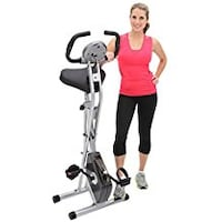 Exerpeutic Folding Magnetic Upright Bike with Pulse Swansea