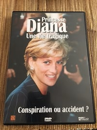 Princesse Diana Conspiracy ou accident? cas DVD Paris, 75015