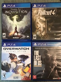 PS4 GAMES Plainfield, 06374