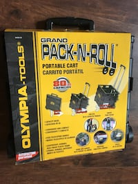Pack and Roll Cart-New 324 mi