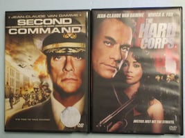 Second in Command / The Hard Corps - Jean-Claude Van Damme DVD's