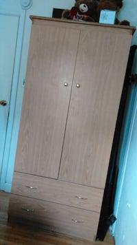 Pick Up Only - Stand Up Dresser With Closet Toronto