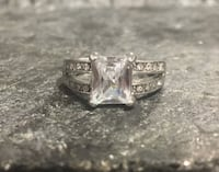 Plated Cocktail Ring #4 Size 9. $15 OBO  Edmonton, T5H 2M5