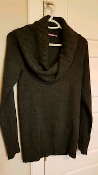 Smart Set Cowl neck Charcoal Sweater Calgary, T3N 0E4