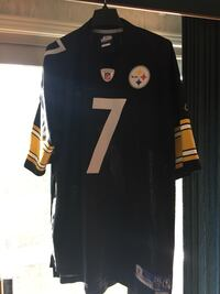 Steelers (Ben Roethlisberger) NFL football jersey, men's 2XL Ajax, L1S 4T7