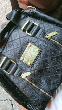 black leather Louis Vuitton purse & Not Fake Edmonton, T6E 2E4