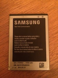 Samsung battery for a 4s & 5s Edmonton, T5C 0W8