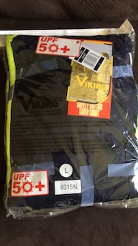Long sleeve, high vis shirts x2. Never opened