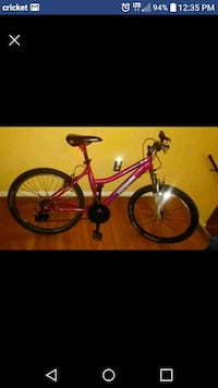 red and black hardtail mountain bike screenshot Gaithersburg, 20878