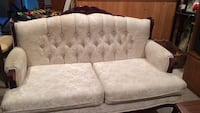 white and brown floral fabric loveseat Acton, L7J 2M1