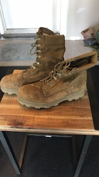 Bates Steel Toe Boots Size 10.5 Aldie, 20105