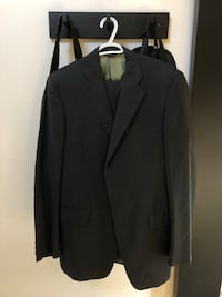 Made in Italy men's suit jacket 40, pants 34 100% wool