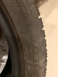 Michelin winter tires 245 / 18
